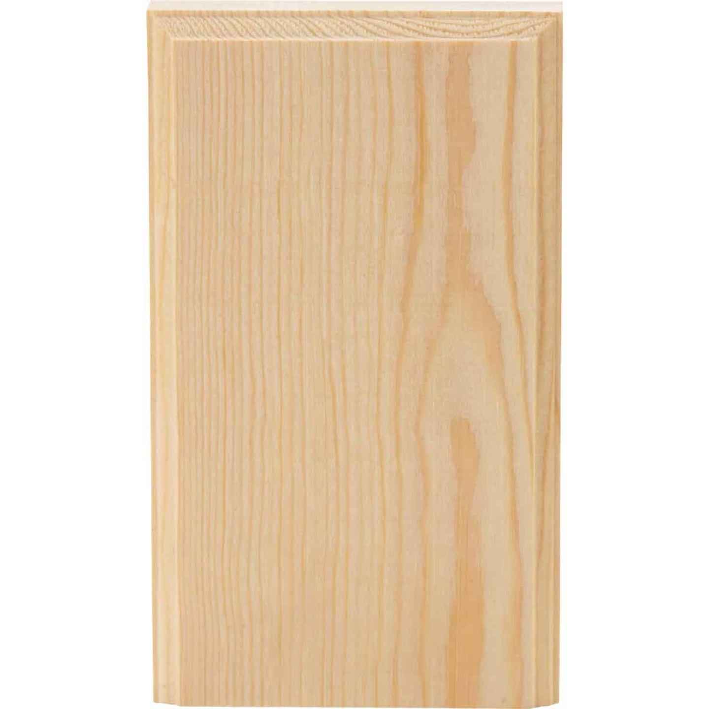 House of Fara 7/8 In. W. x 3-1/2 In. H. x 6 In. L. Pine Plinth Block Image 4