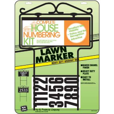 Hy-Ko Self-Adhesive Address Lawn Marker