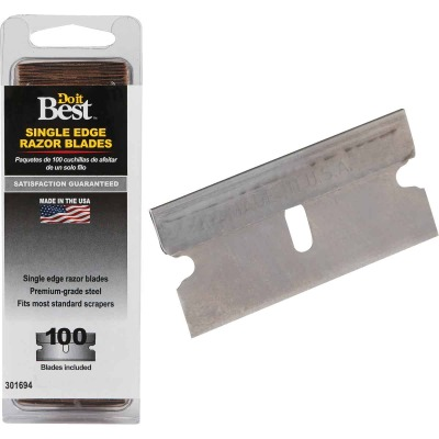 Do it Best Single Edge Razor Blades (100-Pack)