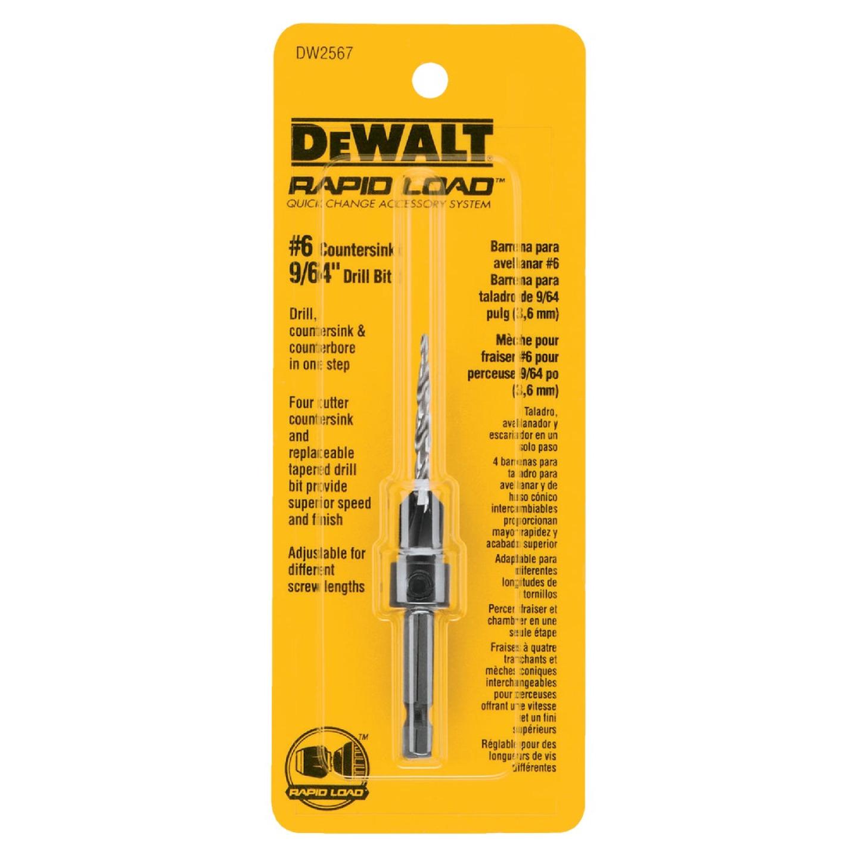 DeWalt #6 - 9/64 In. Fine Rapid Load Wood Countersink Image 2
