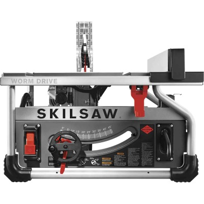 SKILSAW 15-Amp 10 In. Portable Worm Drive Table Saw