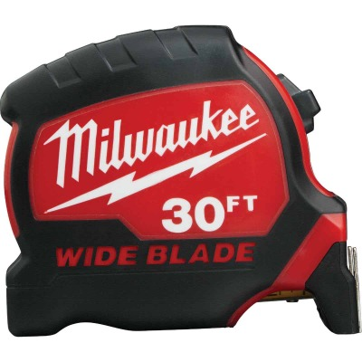 Milwaukee 30 Ft. Wide Blade Tape Measure
