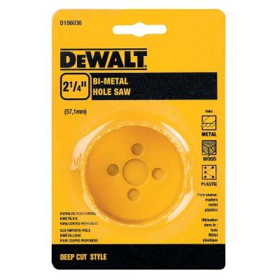 DeWalt 2-1/4 In. Bi-Metal Hole Saw