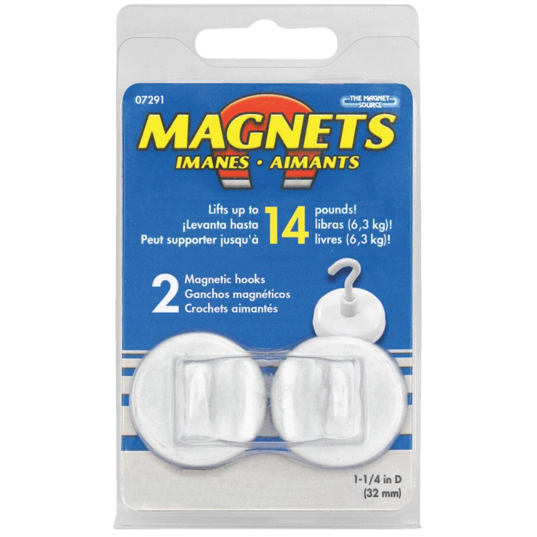 Master Magnetics 1-1/4 in. 14 Lb. Magnet Hooks Image 2