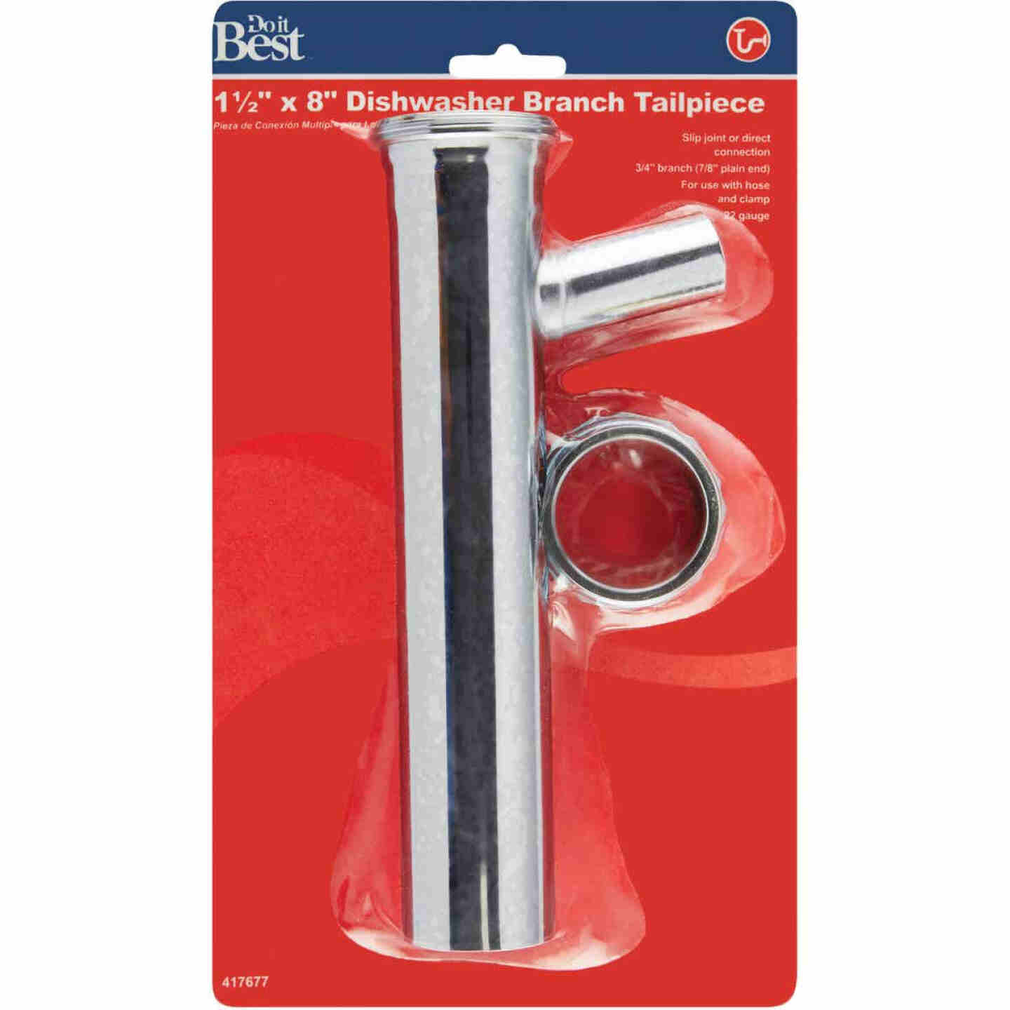 Do it 1-1/2 In. x 8 In. Chrome Dishwasher Tailpiece Image 2