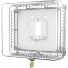 Honeywell Clear 7-1/2 In. 6-1/2 In. Thermostat Guard Image 1