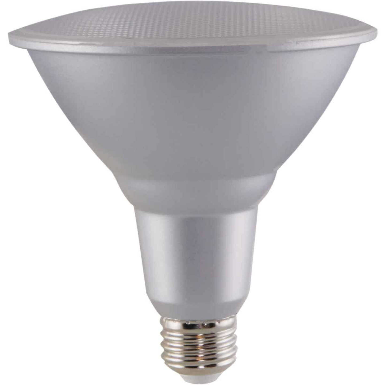 Satco Nuvo 90W Equivalent Natural Light PAR38 Medium Dimmable LED Floodlight Light Bulb Image 4