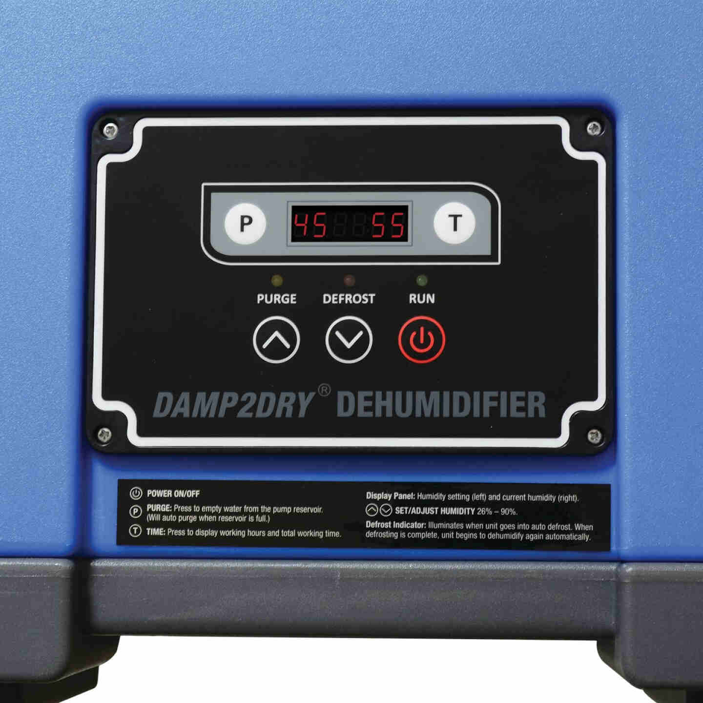 Perfect Aire Damp2Dry 250 Pt./Day 15,500 Sq. Ft. Commercial Dehumidifier Image 3