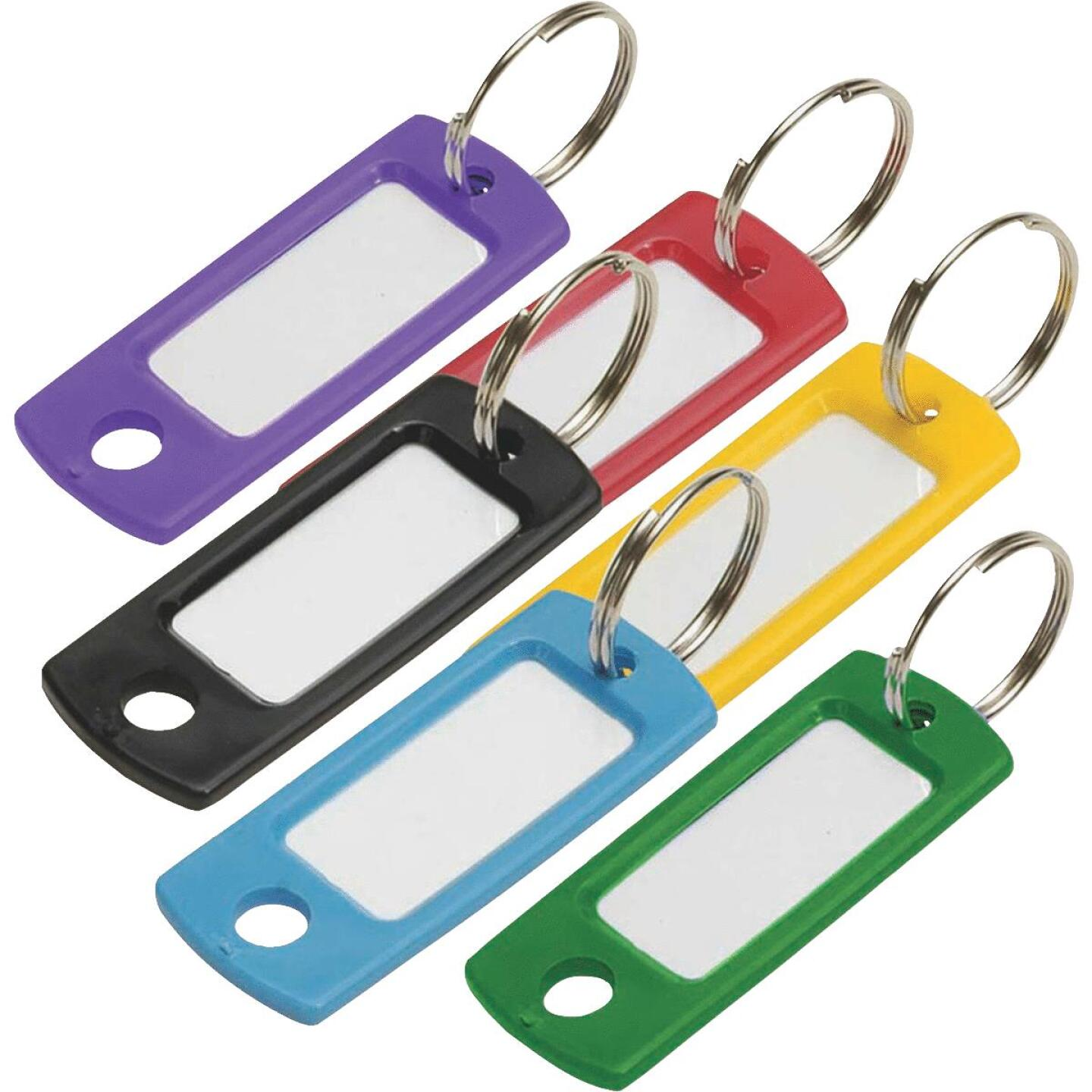 Lucky Line Flexible Plastic Tag 2 In. I.D Key Tag Image 1