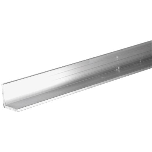 Hillman Steelworks 1/2 In. x 3 Ft. Aluminum Solid Angle