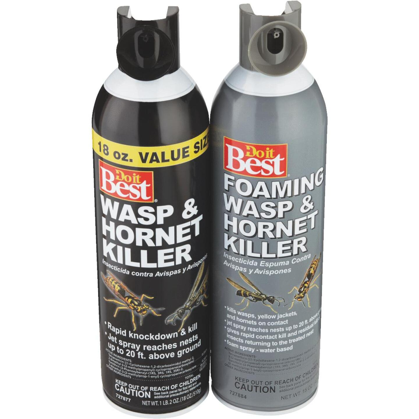 Do it Best 17.5 Oz. Foaming Aerosol Spray Wasp & Hornet Killer Image 5