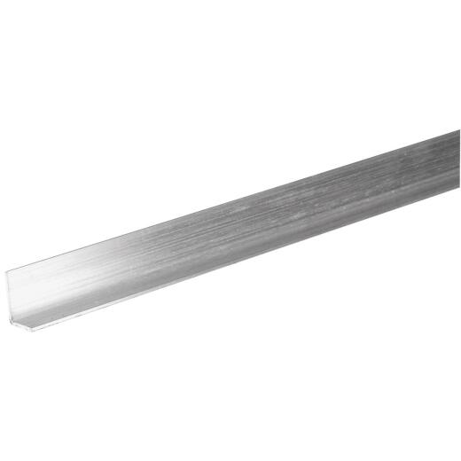 Hillman Steelworks 1/2 In. x 3/4 In. x 4 Ft. Aluminum Offset Solid Angle