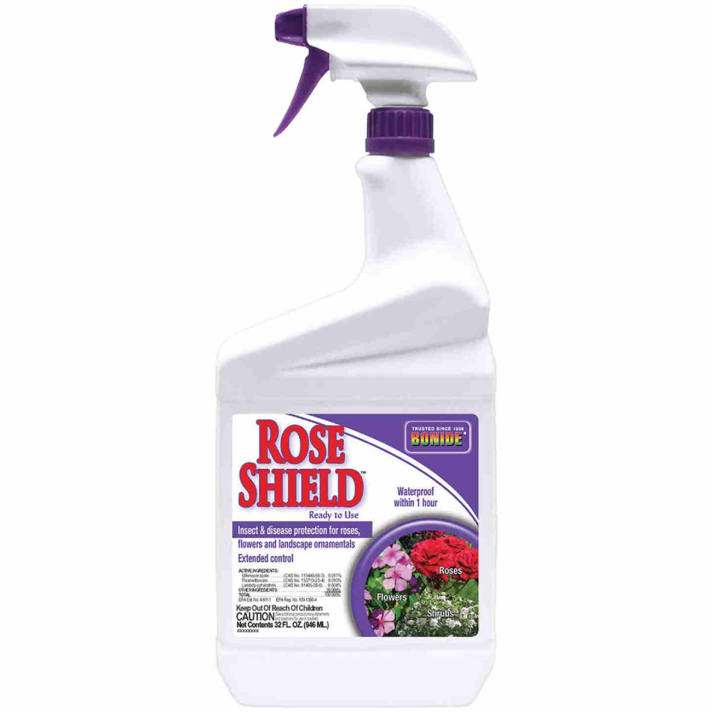 Bonide Rose Shield 1 Qt. Ready To Use Trigger Spray Insect & Disease Killer Image 1