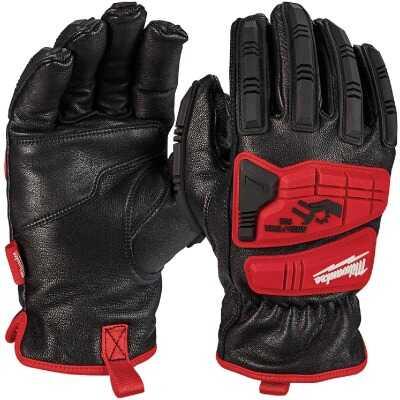 Milwaukee Impact Cut Level 5 Unisex Medium Goatskin Leather Work Gloves