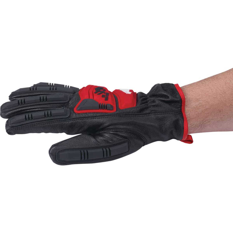 Milwaukee Impact Cut Level 5 Unisex XL Goatskin Leather Work Gloves Image 4
