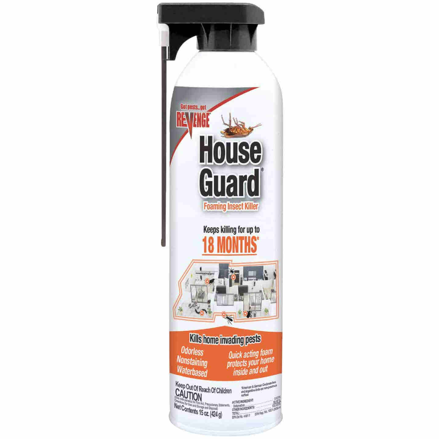 Bonide House Guard 15 Oz. Ready To Use Foaming Spray Insect Killer Image 1