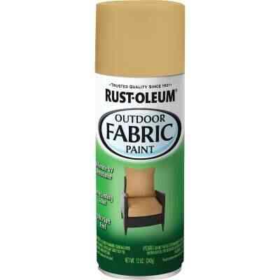Rust-Oleum 12 Oz. Flat/Matte Outdoor Fabric Spray Paint, Khaki