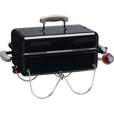 Weber Go-Anywhere 1-Burner Black 6,500-BTU LP Gas Grill
