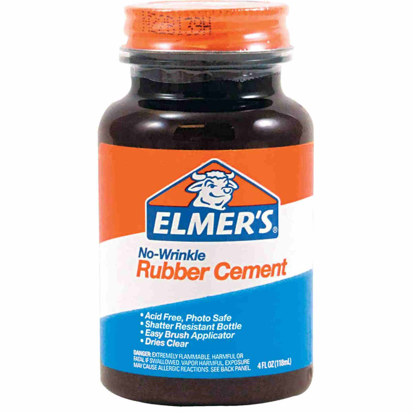 Elmer's 4 Oz. Rubber Cement Adhesive Image 1