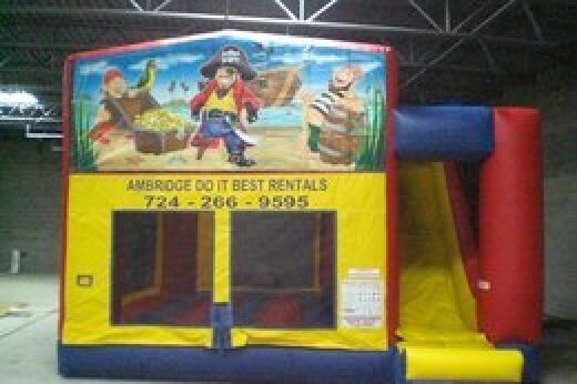 pirate themed funhouse
